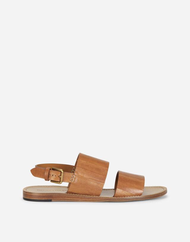 Eel pantheon sandals  in BEIGE