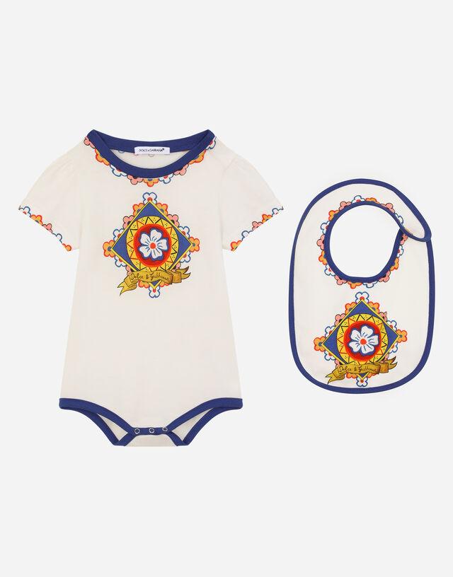 2-piece gift set in Carretto-print jersey in Multicolor