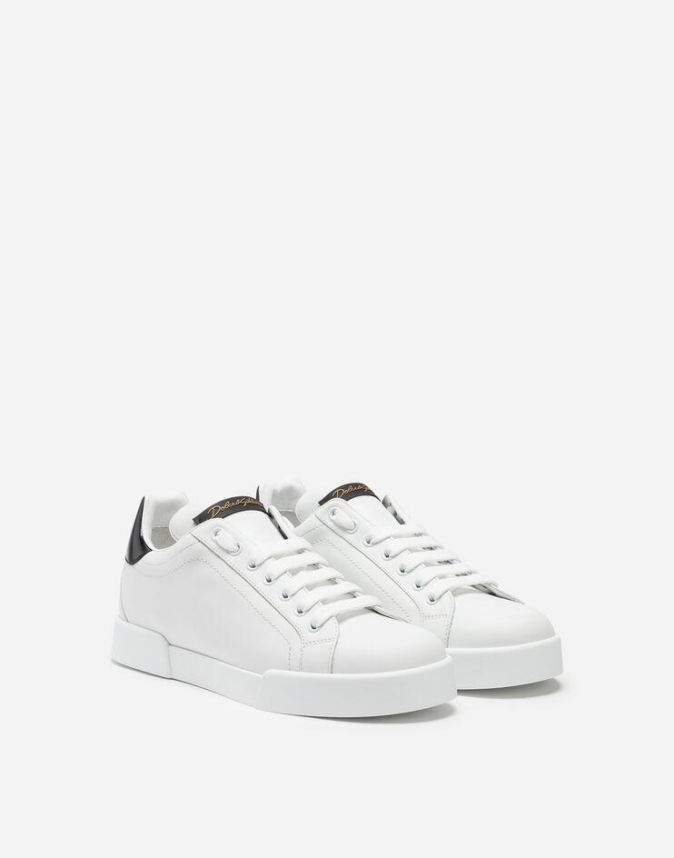 Leather Portofino sneakers - Men