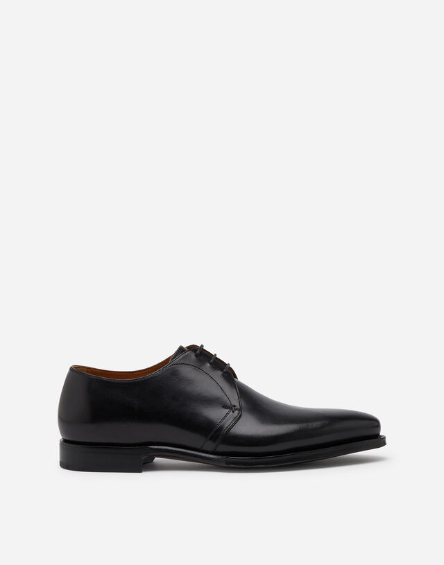 Derby in giotto paint calfskin in BLACK