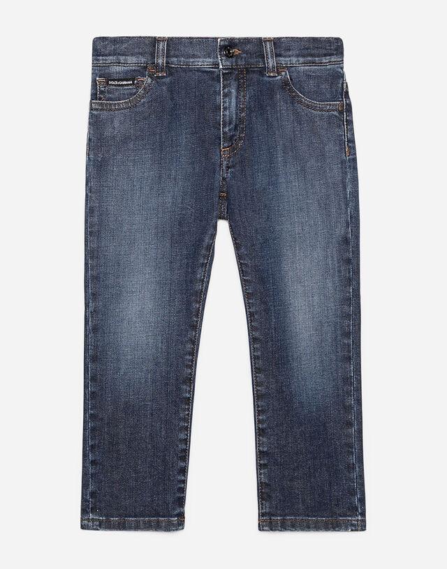 Regular fit denim jeans in Blue